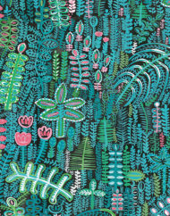 Lagoon Fabric_close up