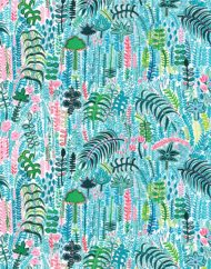 Palm Fabric_140cm repeat_close up