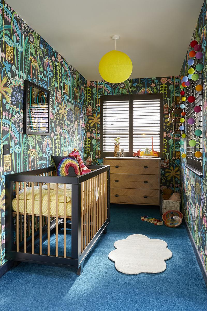 Mr Bear Extra Wide Wallpaper 20m Lucy Tiffney Shop