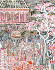 Pink Pavillion Print